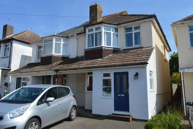 Thumbnail Semi-detached house for sale in Church Hill Avenue, Bexhill-On-Sea
