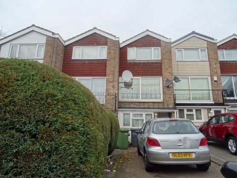 Thumbnail Terraced house for sale in Nash Square, Perry Barr
