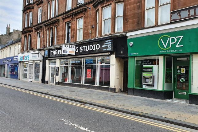 Thumbnail Retail premises to let in 86-88, High Street, Dumbarton