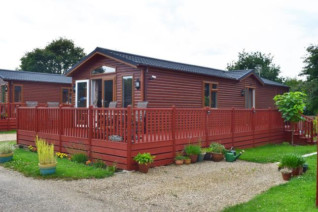 Thumbnail Lodge for sale in Yaxham Waters, Yaxham