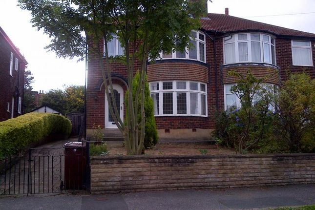 Thumbnail Semi-detached house to rent in Carr Manor Grove, Moortown, Leeds