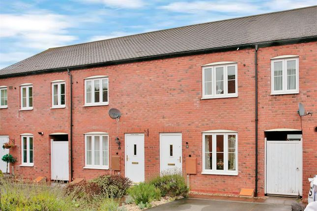 Thumbnail End terrace house for sale in Orwell Close, Stratford-Upon-Avon