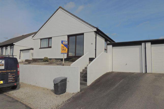 Thumbnail Detached bungalow for sale in Polmear Parc, Par