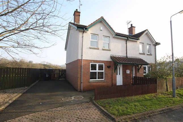2 bed semi-detached house to rent in Windmill Walk, Ballynahinch, Down BT24