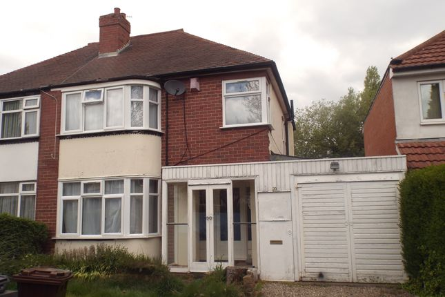 Thumbnail Semi-detached house to rent in Himley Crescent, Goldthorn Park
