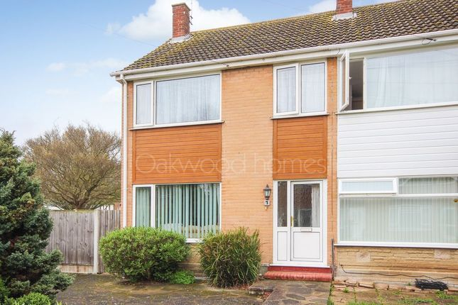 Thumbnail End terrace house for sale in Priory Close, Broadstairs
