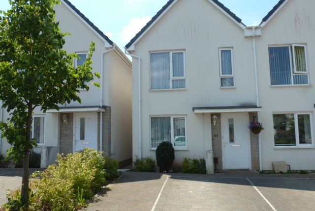 Thumbnail Semi-detached house to rent in Yellowmead Road, Ham, Plymouth