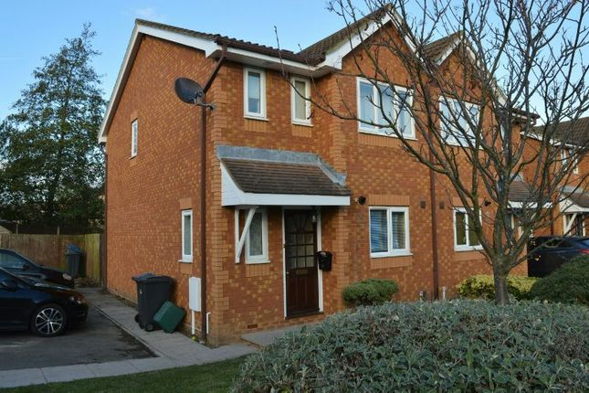Thumbnail Semi-detached house to rent in Coppard Gardens, Chessington