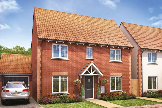 Thumbnail Detached house for sale in The Yewdale, Didcot