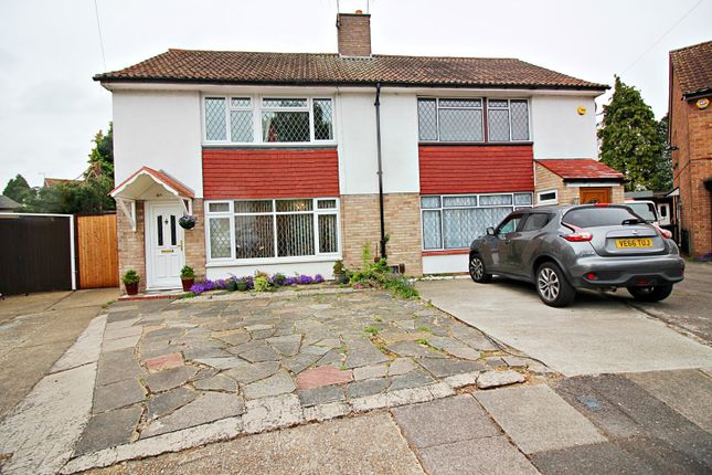 Thumbnail Semi-detached house for sale in Metcalf Road, Ashford