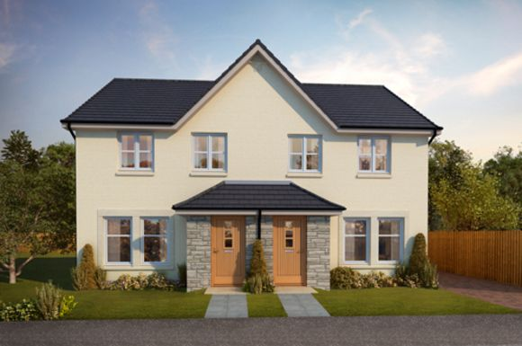 Thumbnail Semi-detached house for sale in The Sinclair, Ostlers Way, Kirkcaldy, Fife