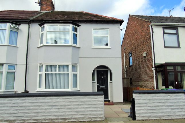 Thumbnail Semi-detached house for sale in Mossfield Road, Orrell Park, Liverpool
