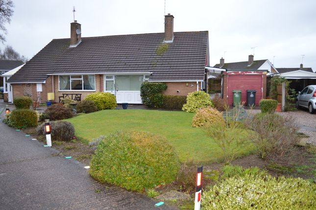 Thumbnail Semi-detached bungalow to rent in Grove Gardens, Market Drayton