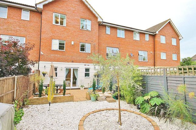 Thumbnail Town house for sale in Bowater Gardens, Lower Sunbury, Surrey