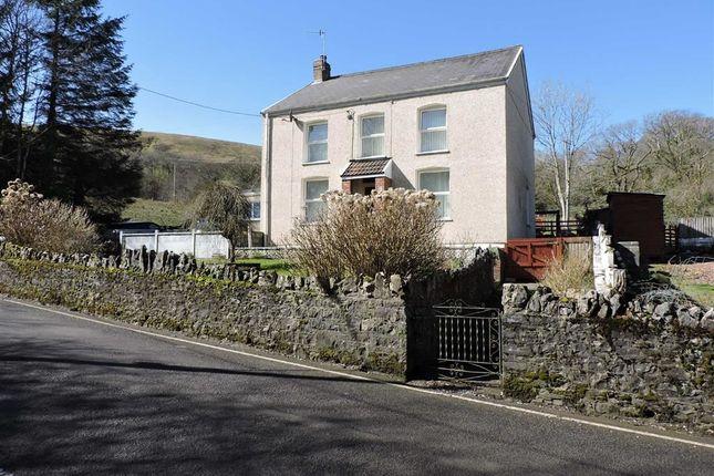 Thumbnail Farm for sale in Coedffaldau Road, Rhiwfawr, Swansea