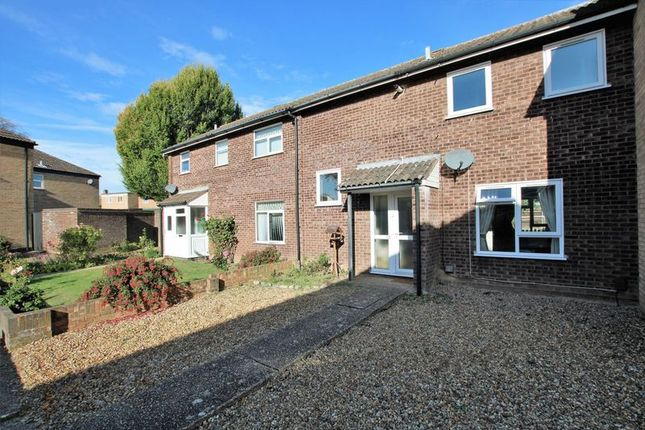 Thumbnail Terraced house for sale in St. Pauls Close, Hellesdon, Norwich