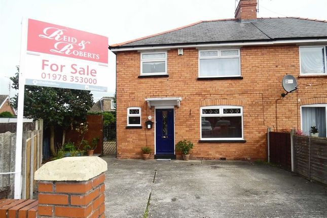 Thumbnail Semi-detached house for sale in Grange Avenue, Wrexham