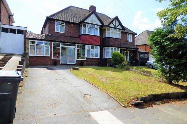 Thumbnail Semi-detached house for sale in Lindale Avenue, Hodge Hill, Birmingham