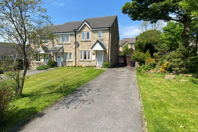 Thumbnail End terrace house for sale in Berrington Way, Oakworth, Keighley