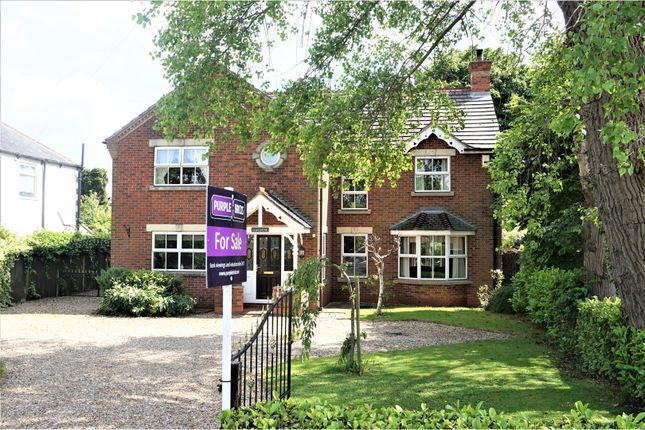 Thumbnail Detached house for sale in Station Road, New Waltham