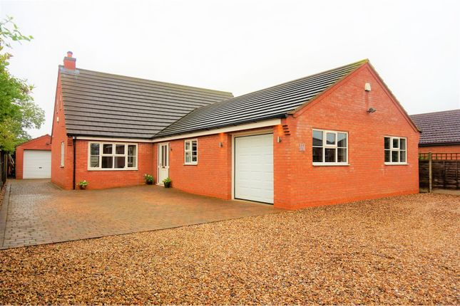 Thumbnail Detached bungalow for sale in Marratts Lane, Grantham