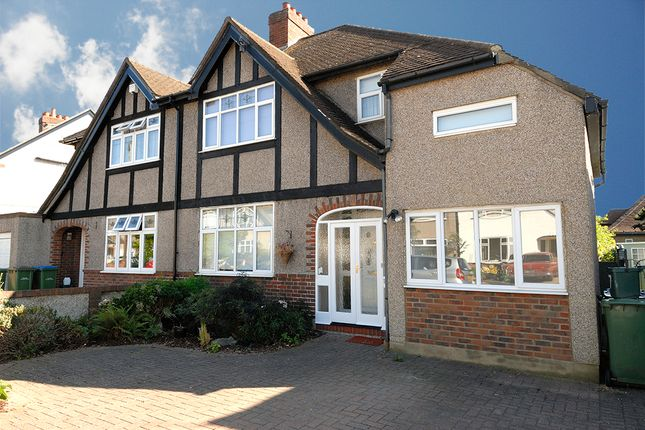 Thumbnail Semi-detached house to rent in Bridge Gardens, East Molesey
