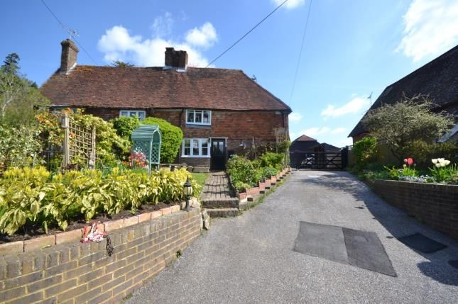 Thumbnail Semi-detached house for sale in School Hill, Burwash, East Sussex