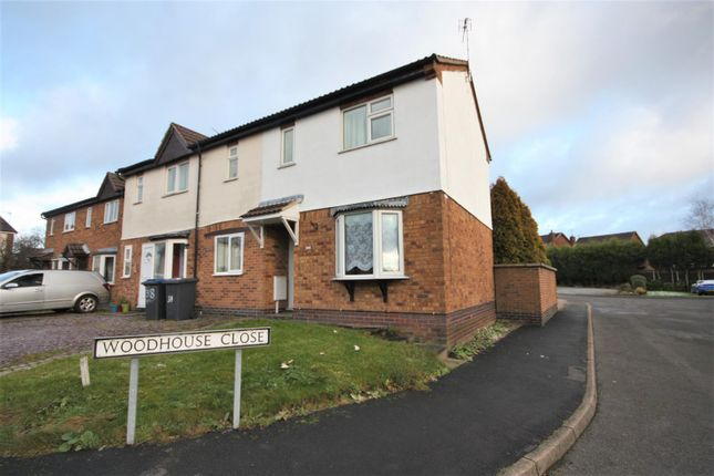 Thumbnail Town house for sale in Linford Crescent, Markfield