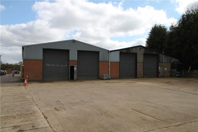 Thumbnail Warehouse to let in Workshops And Yard At Ashby Road, Stapleton, Leicester