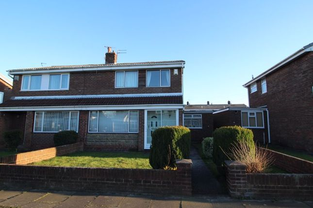 Semi-detached house for sale in Exeter Way, Jarrow