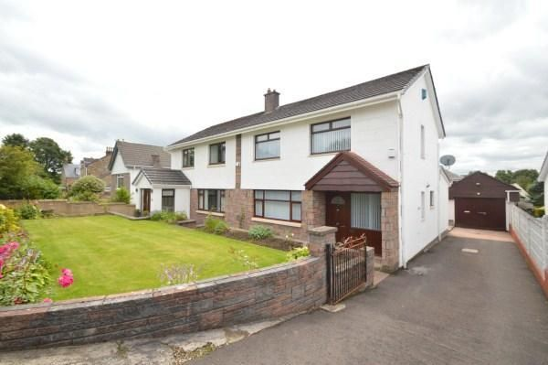 Thumbnail Semi-detached house to rent in Lilybank Avenue, Muirhead, Glasgow