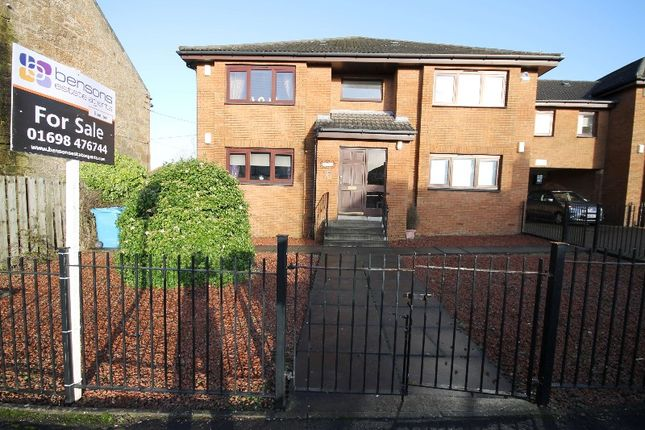 Thumbnail Flat for sale in Hareleeshill Road, Larkhall, South Lanarkshire