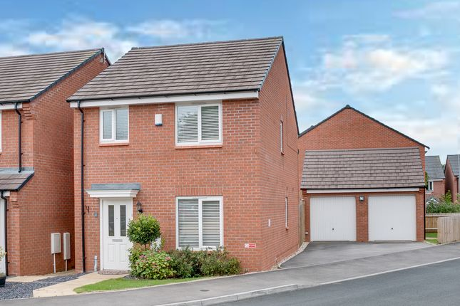 Thumbnail Detached house for sale in Hadlow Close, Greenlands, Redditch
