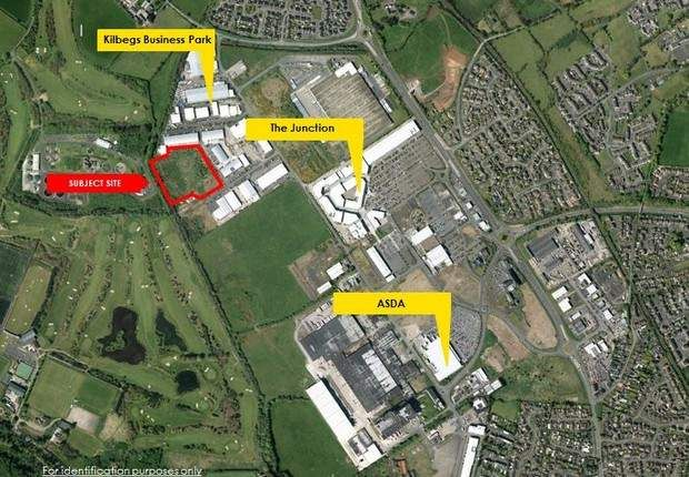 Thumbnail Land for sale in Kilbegs Business Park, Kilbegs Road, Antrim, County Antrim