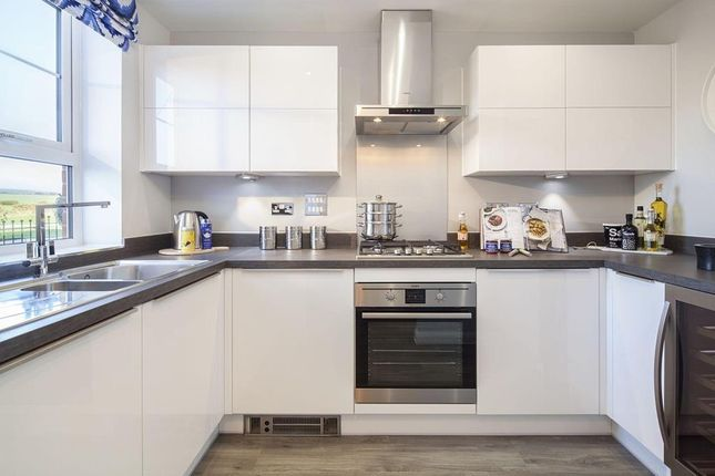 """Thumbnail Terraced house for sale in """"Belmont"""" at St. Georges Way, Newport"""
