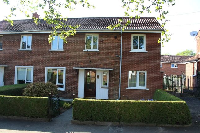 Thumbnail Semi-detached house to rent in Clarawood Park, Belfast