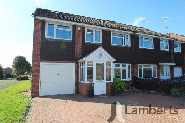 Thumbnail Semi-detached house for sale in Meriden Close, Redditch