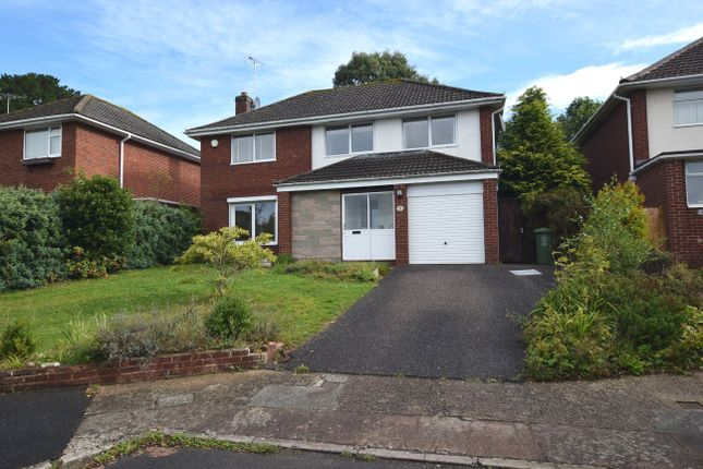 Thumbnail Detached house to rent in Doriam Close, Exeter