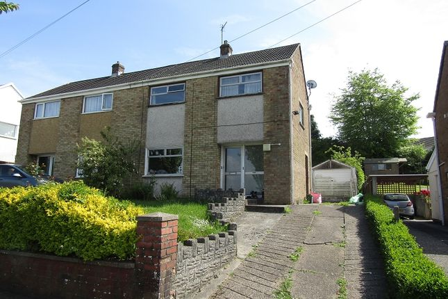 Thumbnail Semi-detached house to rent in Carmel Road, Winch Wen, Swansea.