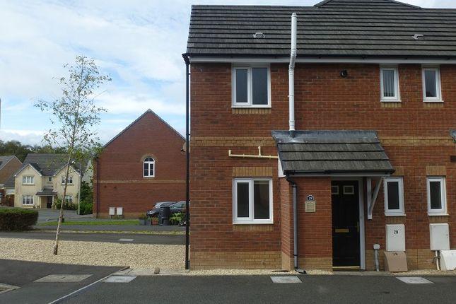 Thumbnail End terrace house for sale in Ffordd Y Glowyr, Ammanford, Carmarthenshire