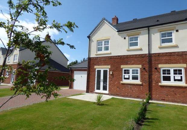 Thumbnail Semi-detached house for sale in Plot 3 Ennerdale, Harvest Park, Silloth, Wigton