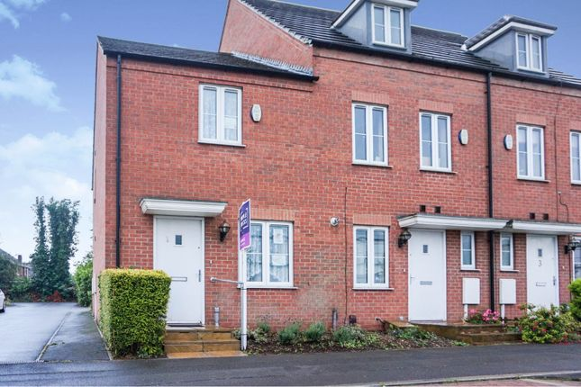 Thumbnail End terrace house for sale in Danes Close, Grimsby