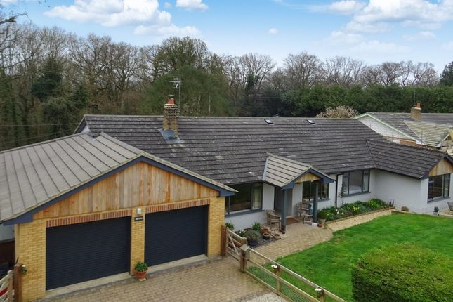 Thumbnail Detached bungalow for sale in Jennetts Close, Tutts Clump, Reading