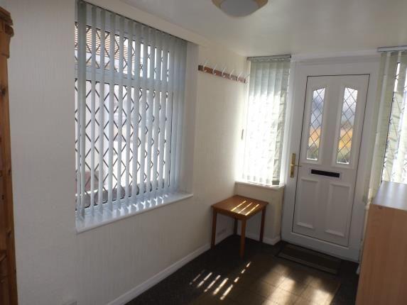 Front Porch of Russell Drive, Prestatyn, Denbighshire, . LL19