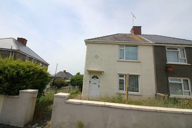 Thumbnail Semi-detached house to rent in Precelly Place, Milford Haven, Pembrokeshire.