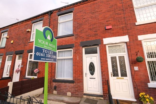 Thumbnail Terraced house to rent in Highfield Street, Denton, Manchester