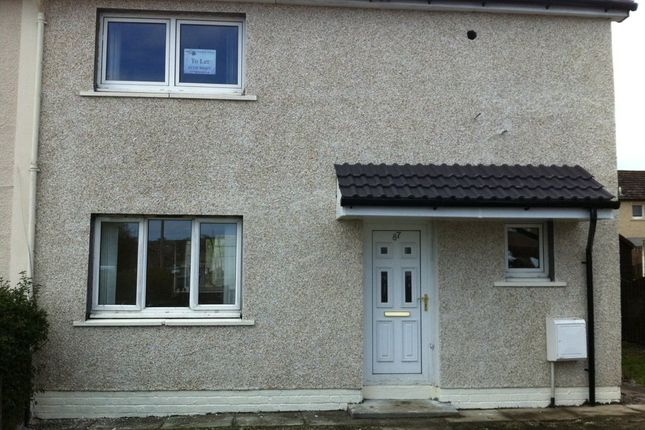 Thumbnail Semi-detached house to rent in Thrashbush Road, Airdrie