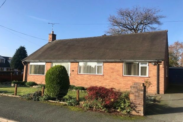Thumbnail Bungalow to rent in Annefield Park, Gresford, Wrexham