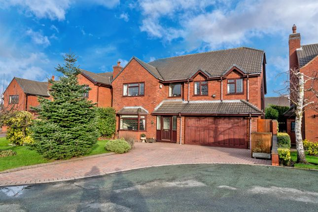 Thumbnail Detached house to rent in Oakdene Close, Cheslyn Hay, Walsall