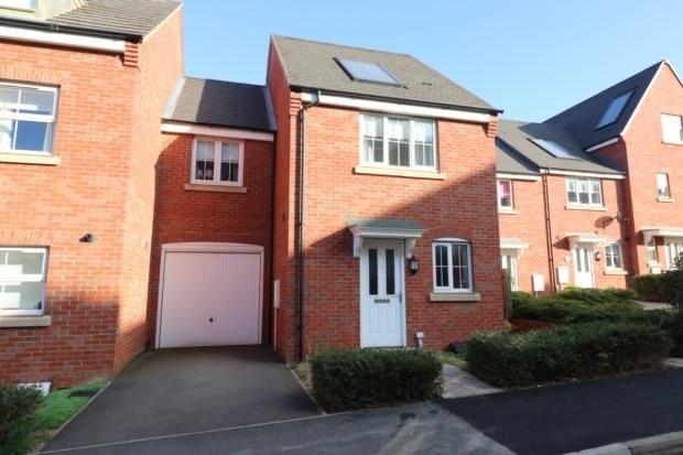 3 bed end terrace house to rent in Tyne Way, Rushden NN10